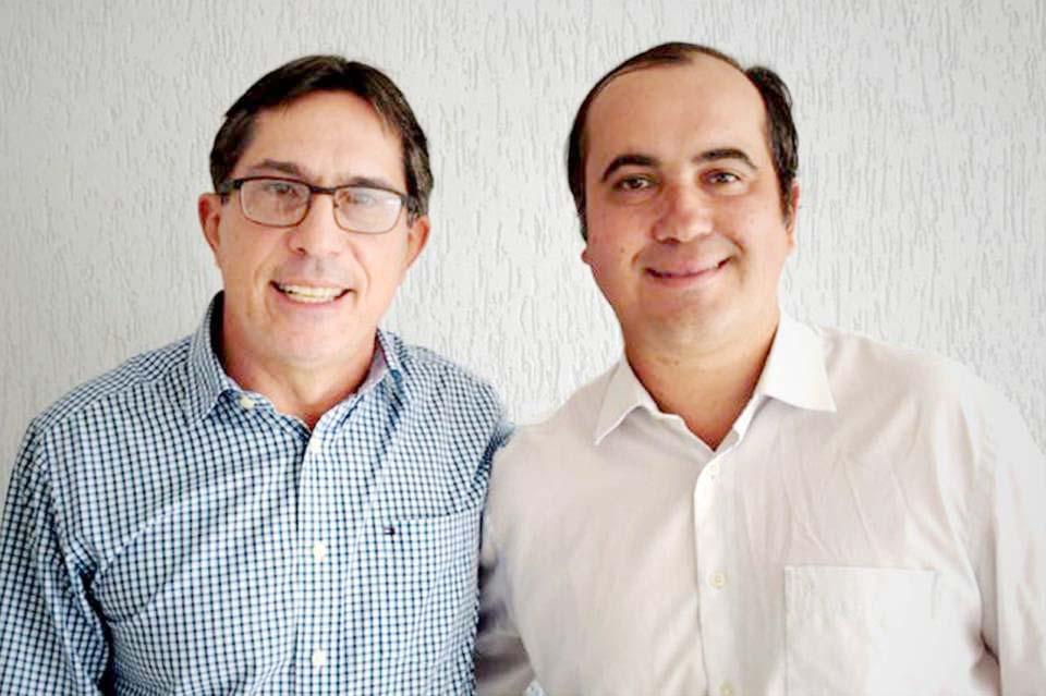 Prefeito Fabio Marcondes e Toto