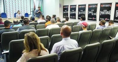 Cerimônia de lançamento do projeto social que atenderá centros comunitários (Foto: Divulgação)