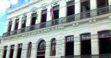 O Palacete 10 de Julho, em Pinda; cenário cultural conta com incentivo após abertura de editais em 2018 (Foto: Reprodução)