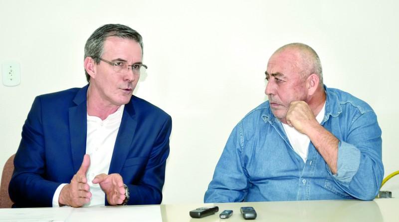 O prefeito Marcus Soliva que anunciou cortes nas horas extras do funcionalismo público (Foto: Arquivo Atos)