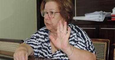 Teca Gouvêa que foi afastada após suspensão de liminar que a mantinha no cargo (Foto: Arquivo Atos)