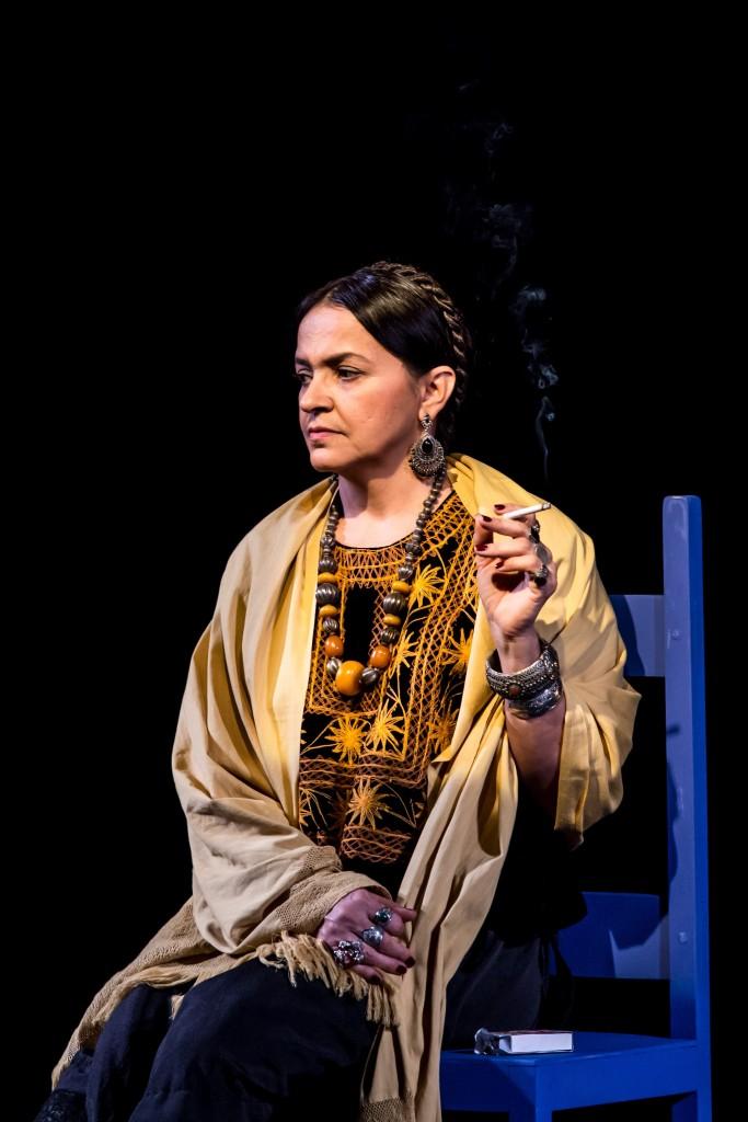 Rose Germano, que interpreta Frida, em espetáculo que chega a Lorena (Foto: Divulgação)
