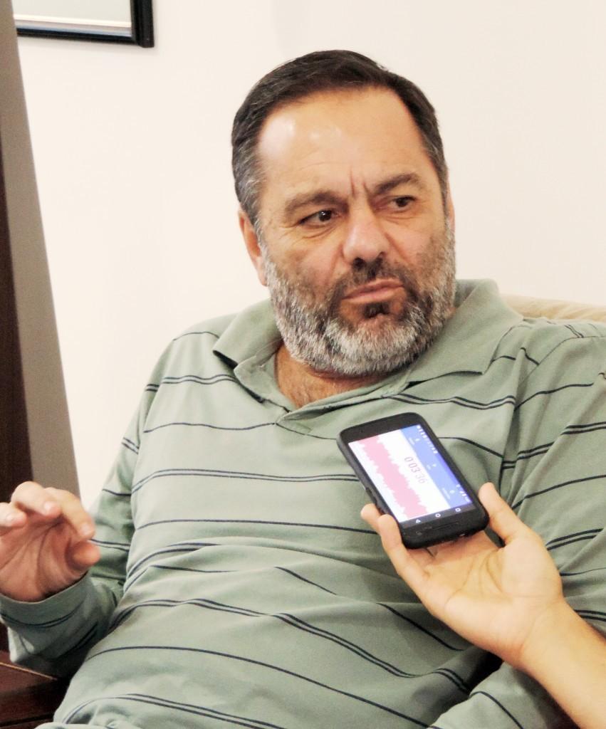 O prefeito Guilherme Carvalho que firmou parceria com a Facic (Foto: Arquivo Atos)