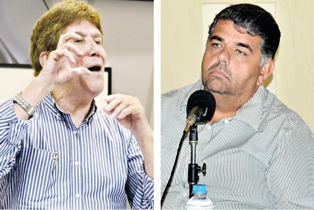 Os ex-prefeitos de Guaratinguetá, Francisco Carlos e Junior Filippo, que ainda não haviam sido notificados até o fechamento desta edição do Atos (Foto: Arquivo Atos)