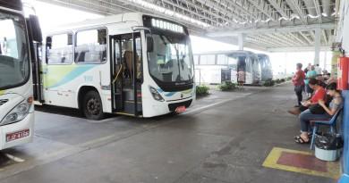 Passageiros aguardam o transporte público no terminal rodoviário em Pinda; cidade receberá investimentos (Foto: Arquivo Atos)