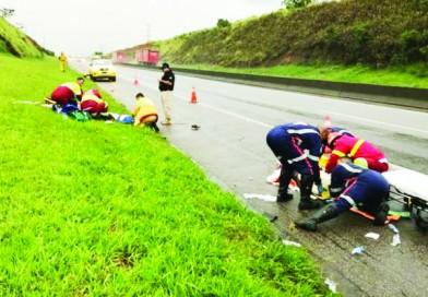 Atropelamento e morte de romeiros aumenta alerta para condutas na Via Dutra