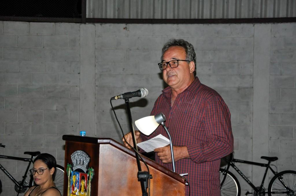 O prefeito de Queluz, Laurindo Joaquim Garcez, que implantou o PDV na busca de economia em 2019 (Foto: Reprodução PRF)