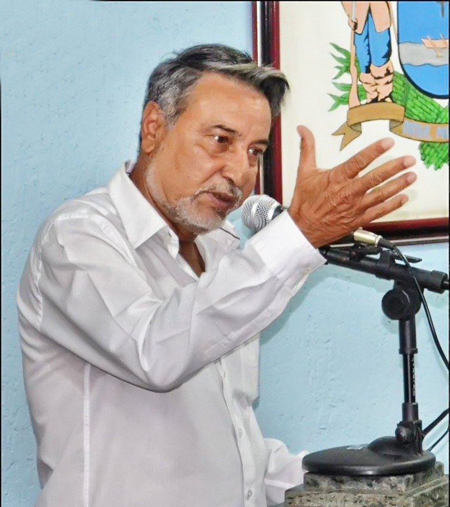 O vereador Adevaldir Ramos, indiciado por concussão e coação (Reprodução CML)