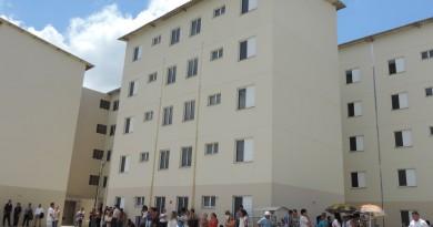 Apartamentos entregues em 2018; Contribuintes tem até próximo dia 11 para pagamento da primeira parcela.(Foto: Rafaela Lourenço).