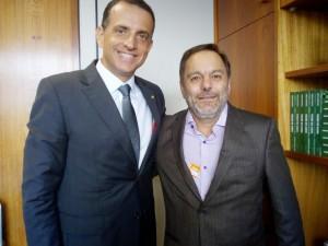 Marco Bertaiolli e Guilherme Carvalho