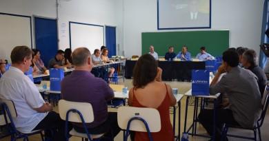 Reunião na Unifatea, que contou com o deputado Eduardo Cury, que ouviu pedidos por reforço na saúde (Foto: Divulgação)