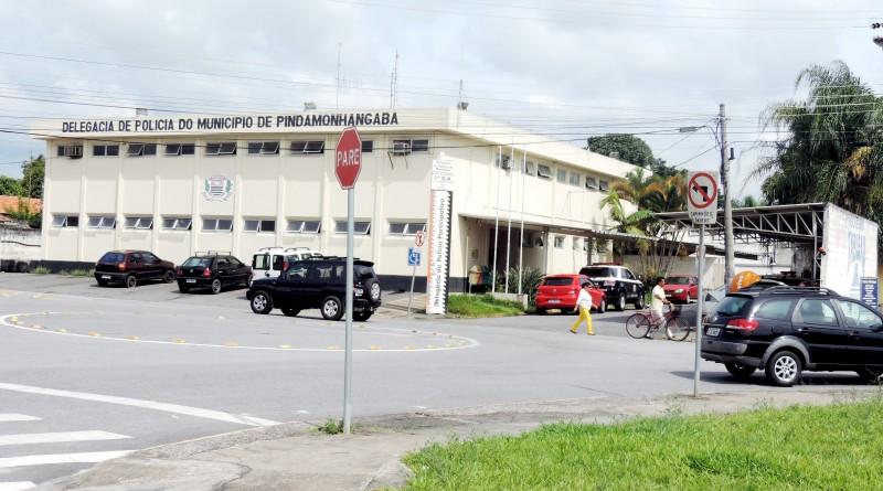A Delegacia de Pinda; região espera por investimento do Estado na estrutura, gargalo no trabalho diário (Foto: Arquivo Atos)