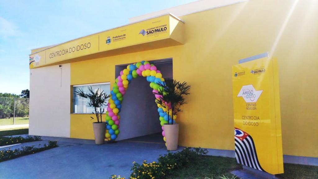 O Centro de Apoio a Idosos, entregue no início desta semana, em Pinda; obra teve orçamento de R$ 500 mil (Foto: Divulgação PMP)