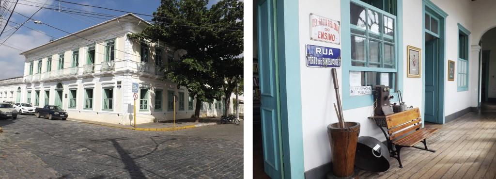 Hoje Casa da Cultura, o Solar Conde de Moreira Lima foi palco de encontros e situações históricas em Lorena; prédio passa por reforma que conta com orçamento de R$ 8 milhões (Foto: Lucas Barbosa)