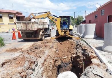 Pindamonhangaba avança em obras de drenagem para conter alagamentos