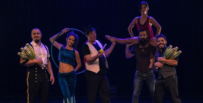 Companhia de teatro Los Circo Los, que faz apresentação em Lorena no próximo sábado (Foto: Andress Correa)