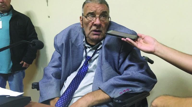 O presidente Wadê Pedroso barrou processante contra Ernaldo (Foto: Leandro Oliveira)