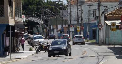 A avenida 23 de Março no Centro de Canas; cidade tem plano de redução de juros e multas de tributos (Foto: Arquivo Atos)