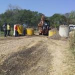 Pinda restringe passagem de caminhões de grande porte em estradas rurais