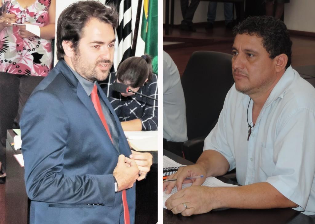 Os vereadores de Pinda que enfrentam investigação na Câmara; crimes de homofobia e caixa dois (Fotos: Arquivo Atos)