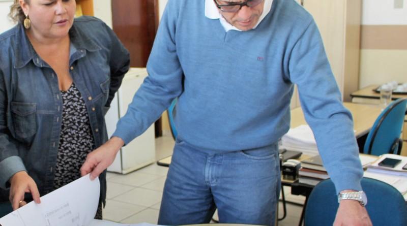 O prefeito Fábio Marcondes e a vice Marietta Bartelega; administração passa por reformulação de cargos (Foto: Arquivo Atos)