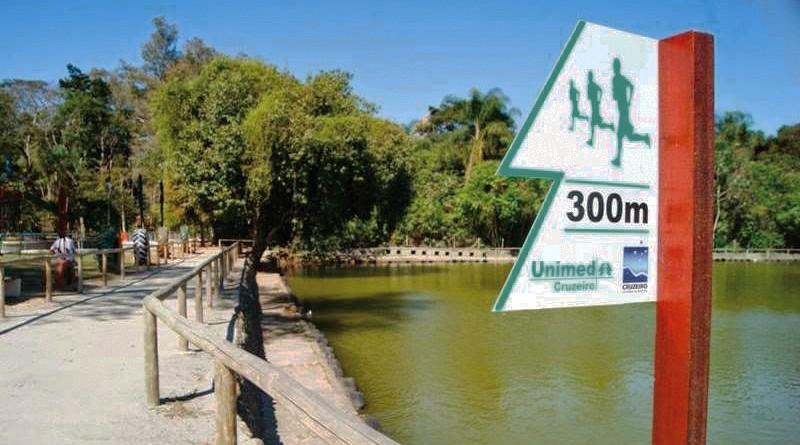 O Bosque Municipal de Cruzeiro, um dos focos de nova ação da Prefeitura, que terá investimento do MIT (Foto: Reprodução PMC)