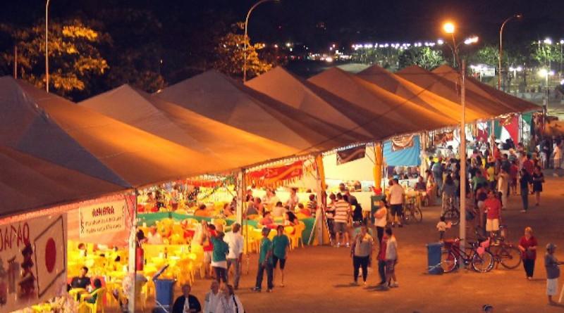 A Feira das Nações de Ubatuba que teve início nesta sexta-feira; edição segue até o domingo dia 3 (Foto: Reprodução PMU)
