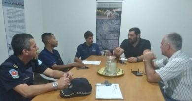 Reunião realizada    (Foto: Divulgação PMU)