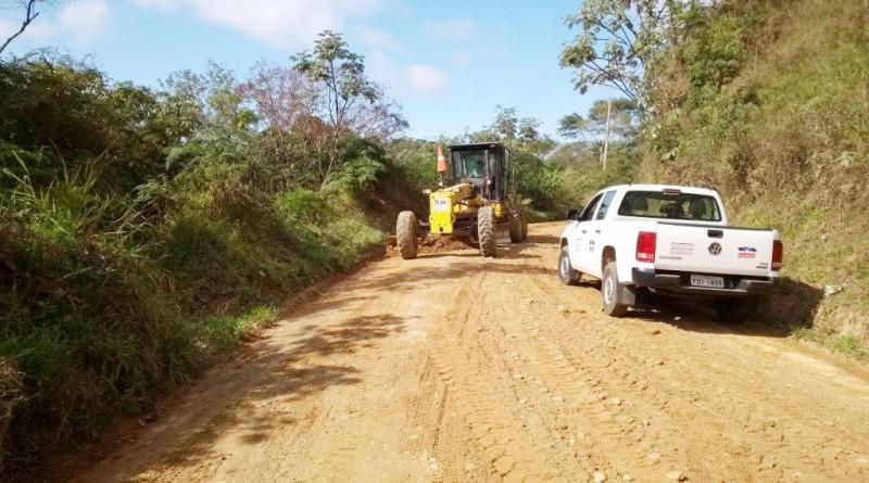 A principal estrada de acesso ai Gomeral que receberá investimento de infraestrutura (Foto: Reprodução PMG)