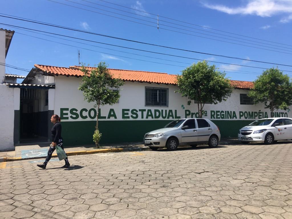 A unidade de Cachoeira Paulista fiscalizada pelo Tribunal de Contas; escolas da região passaram por vistoria (Foto: Jéssica Dias)