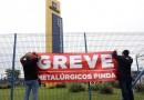 Sem diálogo com empresa, trabalhadores da Gerdau de Pinda seguem em greve