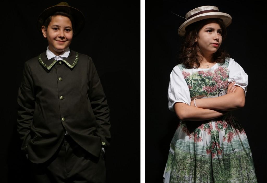 """Pequenos atores que se preparam para estrear """"A Noite do Halley"""", no próximo dia 6, no Teatrim, em Lorena (Fotos: Divulgação Teatrim)"""