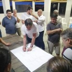 Marcondes debate ação contra alagamentos na Vila Geny e cobra apoio financeiro da Câmara