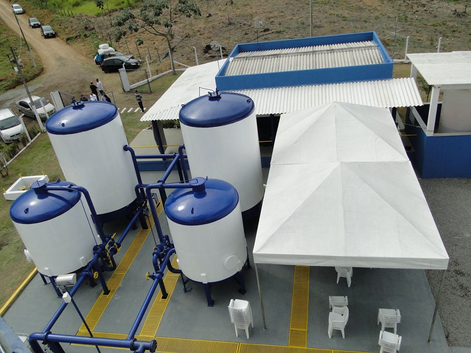 Estação de tratamento em Cruzeiro; Prefeitura anuncia investimento para nova estrutura para o esgoto (Foto: Divulgação Saae)