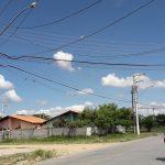 Reparos interrompem fornecimento de água e luz em Pinda