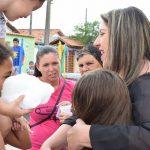 Potim faz campanha de arrecadação de alimentos para famílias de baixa renda