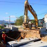Caraguá avança em drenagens para conter alagamentos