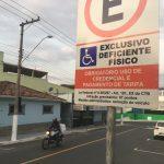 Câmara aprova isenção da Zona Azul para pessoas com deficiência em Guará