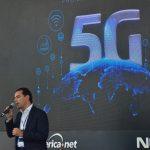 Pinda é a primeira cidade do país a receber sinal de 5G