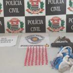 Polícia apreende armas e drogas em Cachoeira