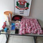 Traficante é flagrado com quase dois quilos de cocaína em Lorena