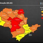 Região volta à fase laranja no Plano São Paulo