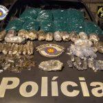 Reincidente, traficante é preso com maconha e cocaína em Lorena