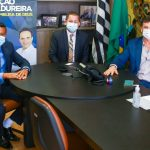 Em Brasília, Isael busca investimentos para esporte, educação e saúde