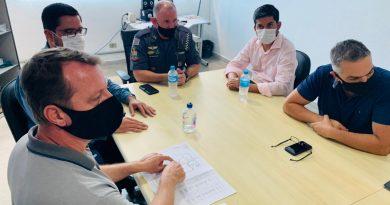 Caraguatatuba firma convênio com DER por nova sede da Força Tática