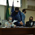 Vereadores abandonam sessão em Aparecida após antecipação de eleição da mesa ser retirado da ordem do dia