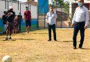 Lorena inaugura quadras de futebol society no Cecap e Santo Antônio